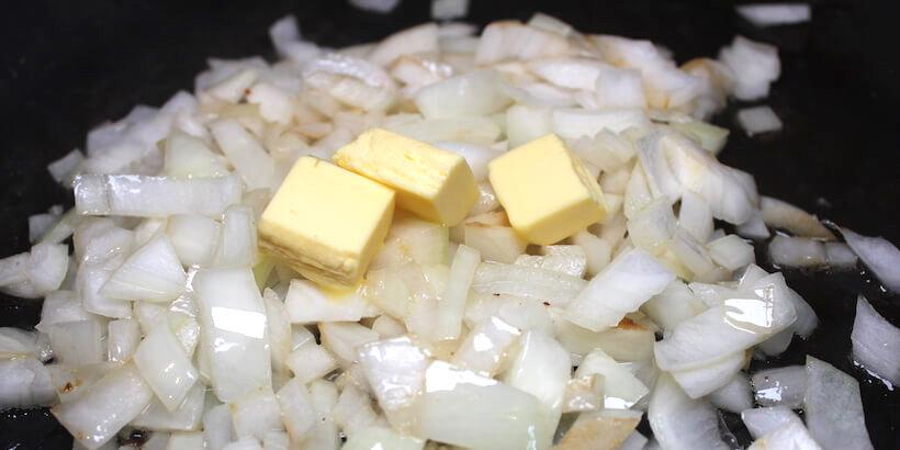 南瓜濃湯炒洋蔥步驟圖