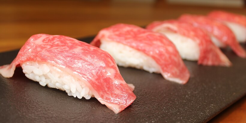 握壽司鋪和牛圖