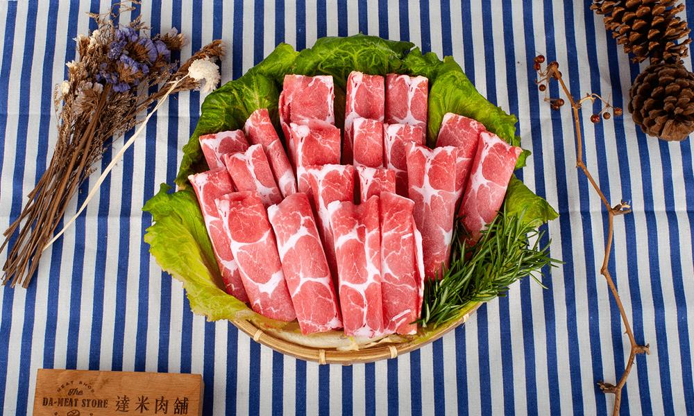 台灣梅花豬火鍋片