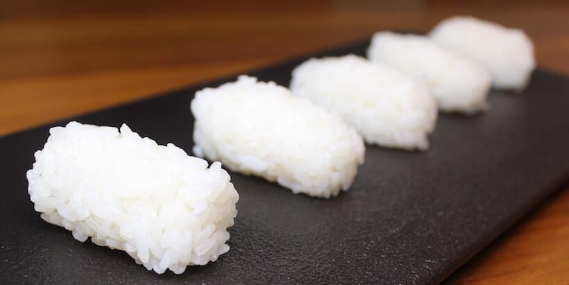 握壽司捏飯圖