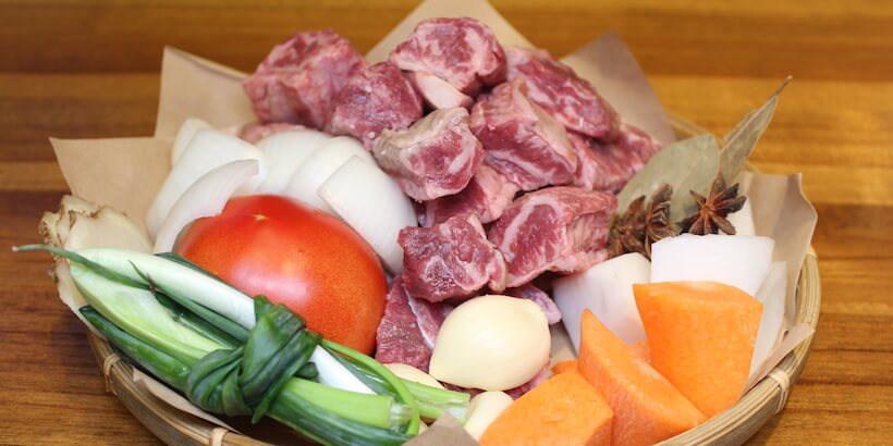 牛肉湯材料圖