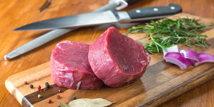 菲力牛排原肉