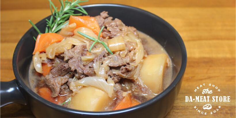 馬鈴薯燉肉成品圖