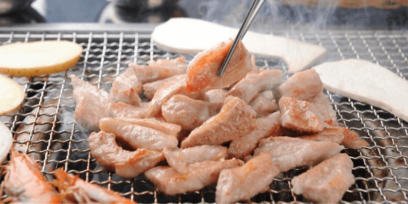 松阪豬豬頸肉燒烤圖