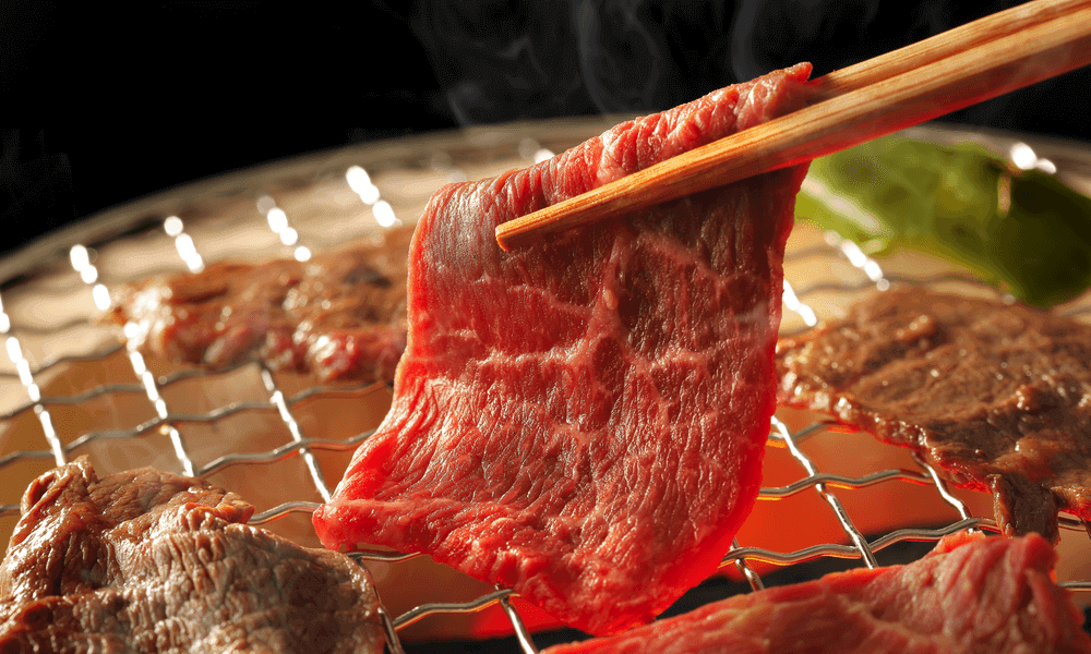 中秋食材烤肉圖