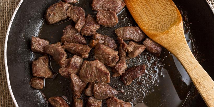燉牛肉炒牛肉鈔出鍋底精華