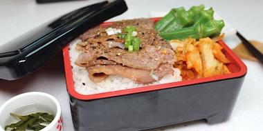 家常料理系列- 燒肉風味牛小排便當
