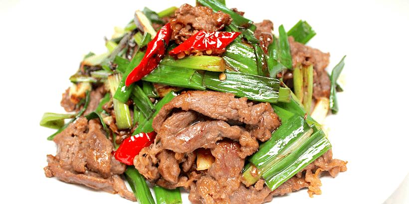 蔥爆牛肉-最經典的家常牛肉料理
