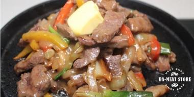 家常料理系列-奶香鐵板牛肉