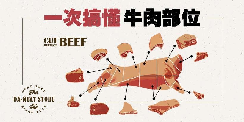 一次搞懂牛肉部位