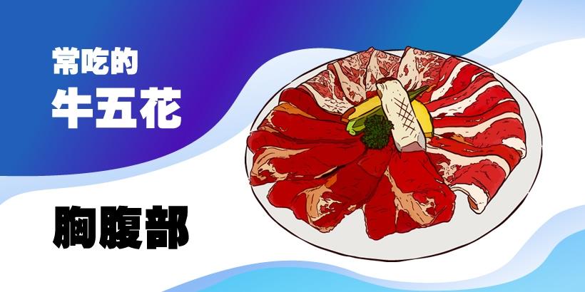 台灣使用率超高的牛肉部位 - 胸腹部